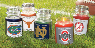 Collegiate Licensing Company and Yankee Candle Launch the Fan Candle Collegiate Collection