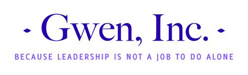 Gwen, Inc. logo. (PRNewsFoto/Gwen, Inc.)