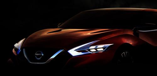Nissan Sport Sedan Concept. (PRNewsFoto/Nissan North America) (PRNewsFoto/NISSAN NORTH AMERICA)