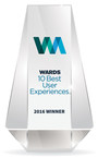 Wards 10 Best User Experiences Of 2016 Announced By Penton's WardsAuto