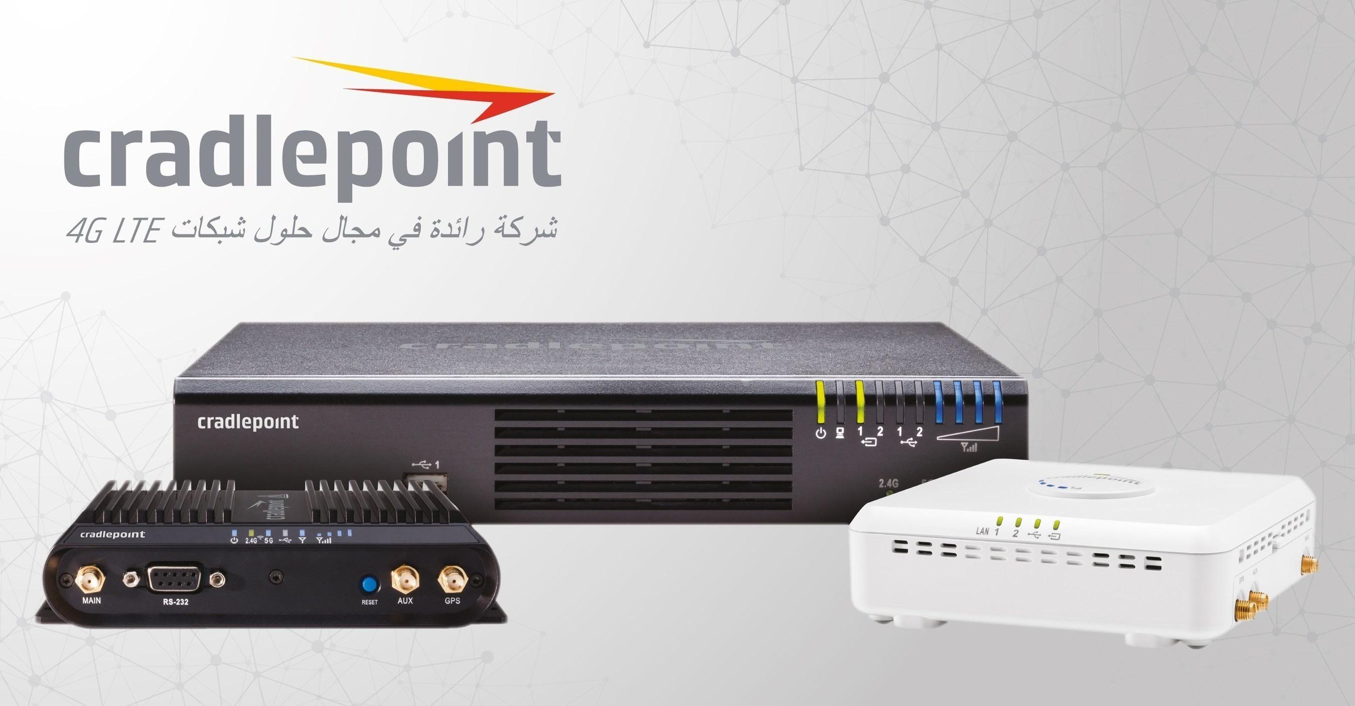 Cradlepoint COR IBR 1100, AER 2100 and ARC CBA 850 (PRNewsFoto/Cradlepoint)