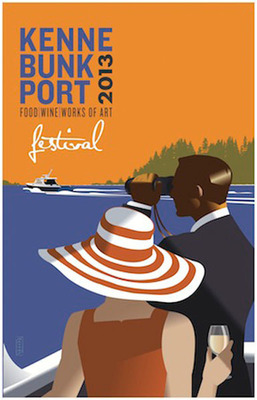 Kennebunkport Festival June 4-9, 2013.  (PRNewsFoto/Maine magazine)