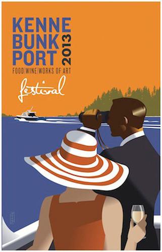 Kennebunkport Festival June 4-9, 2013.  (PRNewsFoto/Maine magazine)