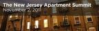 The New Jersey Apartment Summit on November 2nd.  (PRNewsFoto/CapRate Events, LLC)