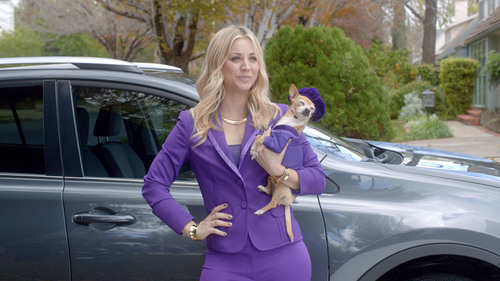 "New Toyota RAV4 commercial airs on Feb. 3 featuring ""genie"" Kaley Cuoco.  (PRNewsFoto/Toyota Motor ..."