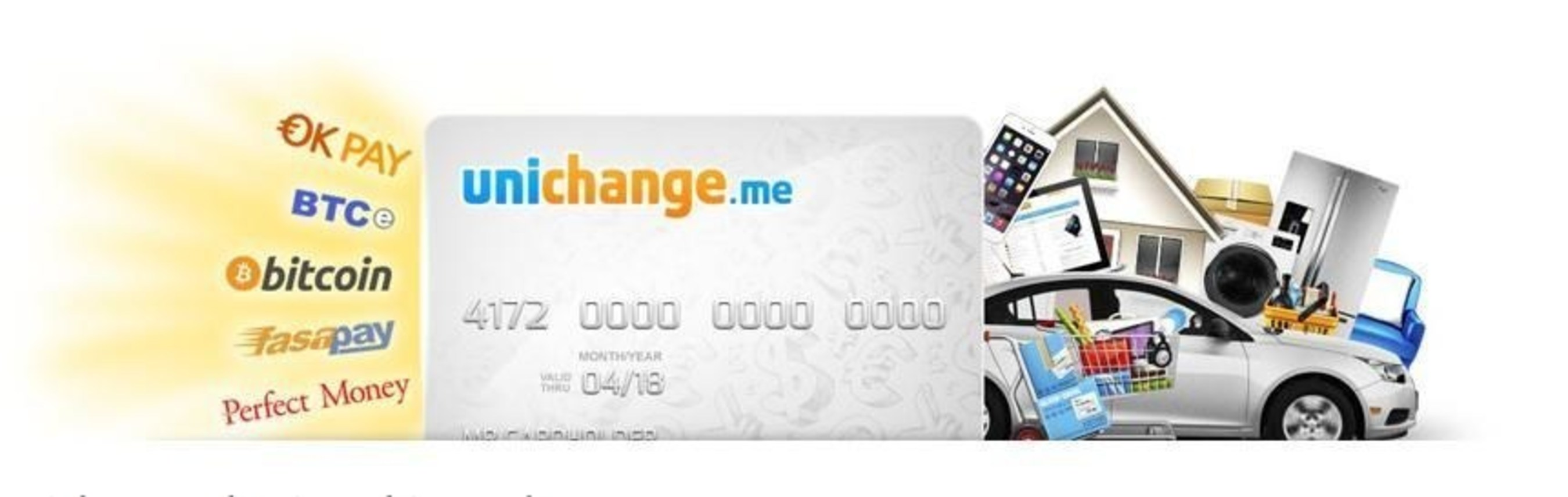 Use bitcoin at amazon aliexpress and more with a free unichange conditions of the promotion are very transparent customers who order a unichange plastic card will receive unichange virtual card of the same currency reheart Gallery