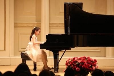 Angelina Hubertus' live performance at Carnegie Hall