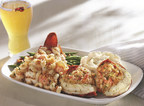 Red Lobster's NEW! Dueling Lobster Tails feature a roasted Maine lobster tail topped with langostino lobster mac-and-cheese, paired with two split Maine lobster tail medallions with lobster-and-seafood stuffing.
