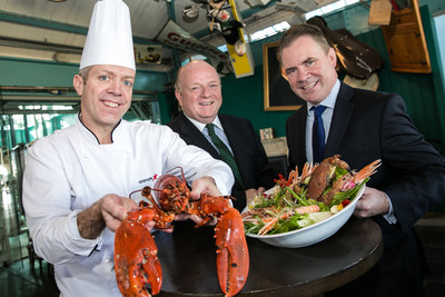 For the past 15 years Aramark has helped to create a rich experience for visitors at Ireland's GUINNESS STOREHOUSE. The company is proud to continue to offer visitors innovative new dining options through a new five year contract. From left are Justin O'Connor, Aramark's Executive Chef at GUINNESS STOREHOUSE, Paul Carty, Managing Director GUINNESS STOREHOUSE and Frank Gleeson, Managing Director, food service, with Aramark.