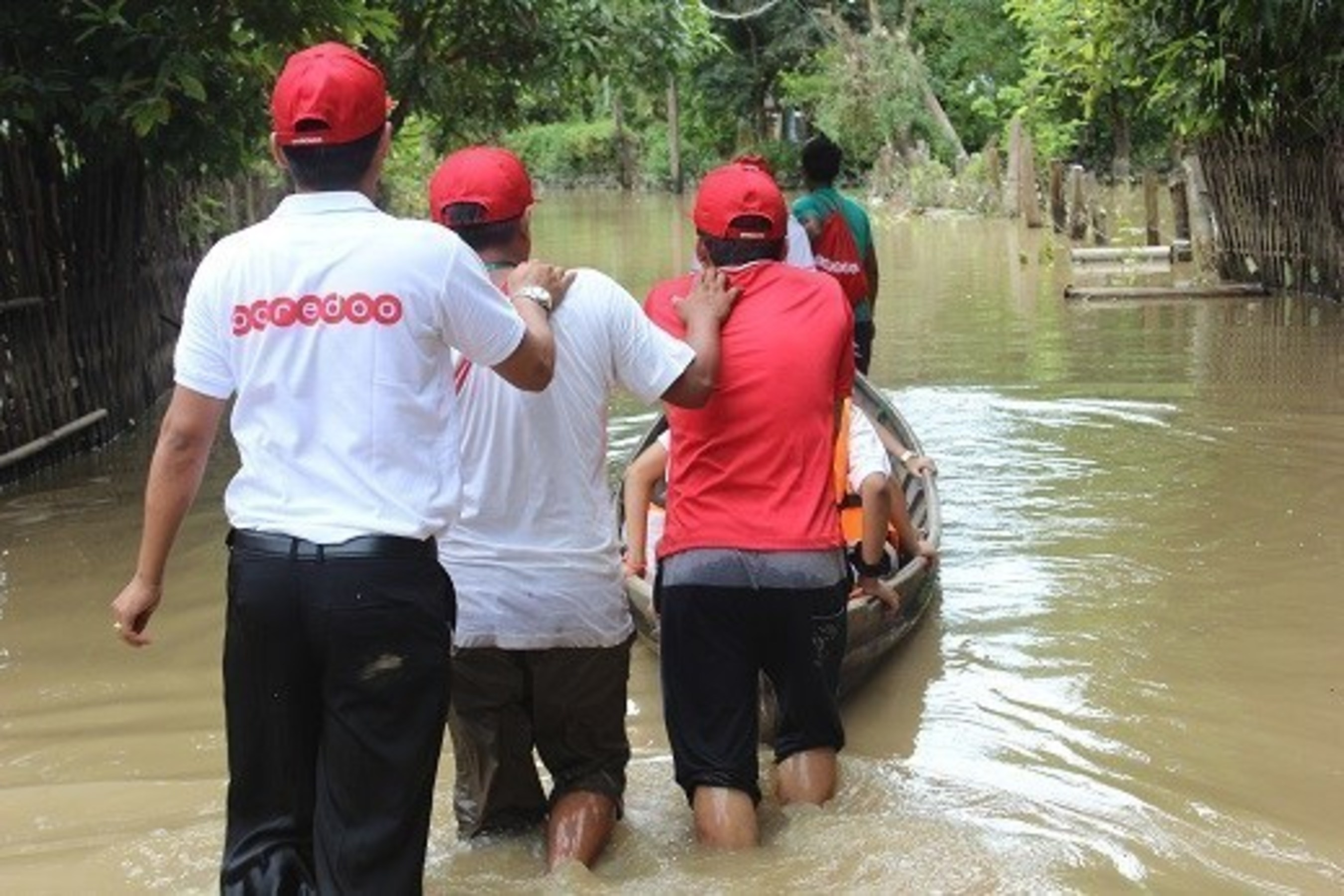 Ooredoo provides emergency aid in the wake of severe flooding across Myanmar