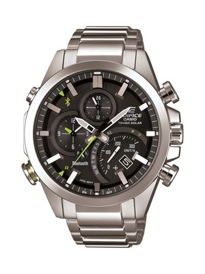 CASIO'S EDIFICE TIMEPIECES HELP WORLD TRAVELERS 'FALL BACK'