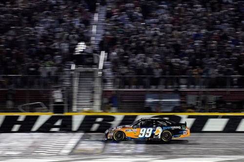 Aflac's 'Now Hiring' Message is Driven Home on Carl Edwards' No. 99 Aflac Ford Fusion This Weekend