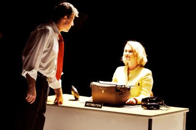 "Actor Michael Newman portrays JFK in ""The Limbo Kings"" indie film with Actress Stephanie Coatney as Monroe. (PRNewsFoto/Gulf + Atlantic Films) (PRNewsFoto/GULF + ATLANTIC FILMS)"