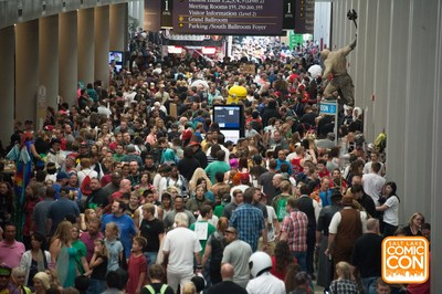 More than 120,000 people attended the second Salt Lake Comic Con. The convention was held September 4 - 6, 2014 in downtown Salt Lake City. (PRNewsFoto/Salt Lake Comic Con)