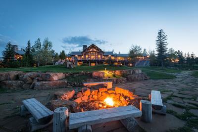 Auction August 9th of the Big EZ Lodge in Big Sky, MT by Concierge Auctions BigSkyAuction.com.  (PRNewsFoto/Concierge Auctions)