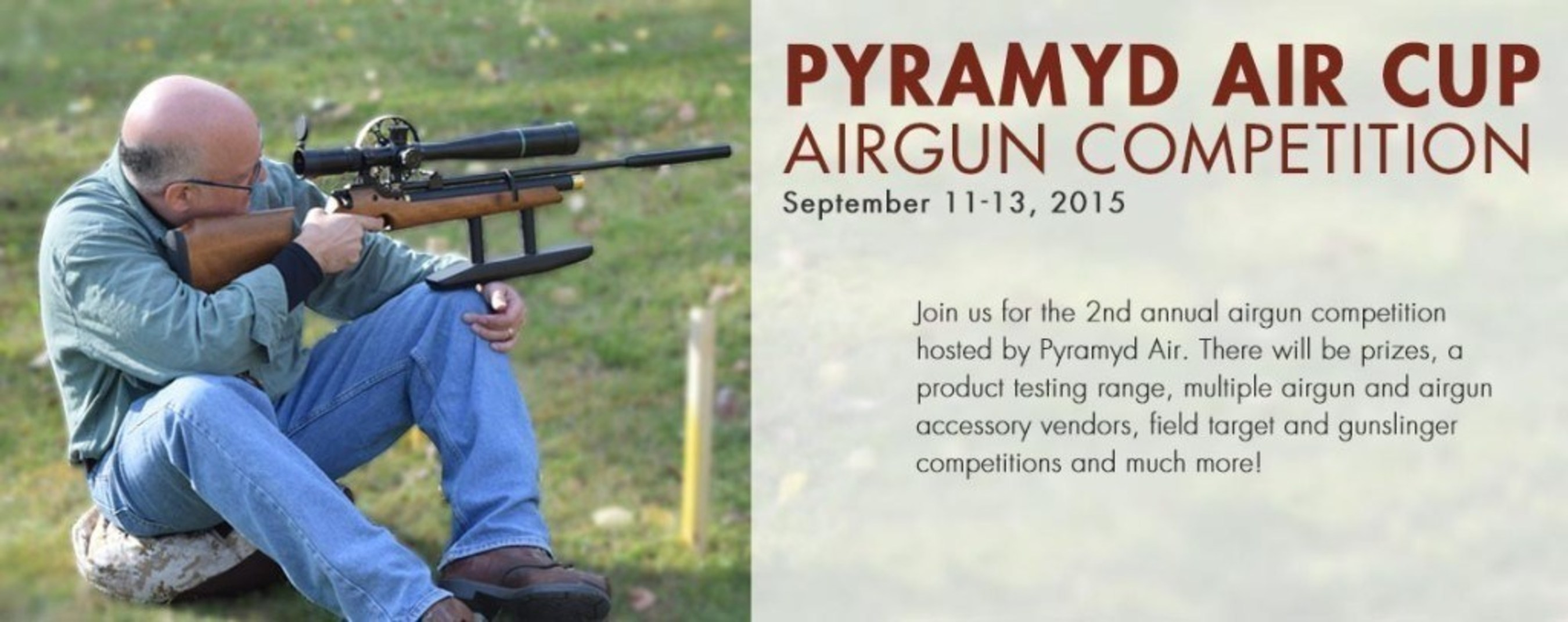 Pyramyd Air Hosts Second Pyramyd Air Cup Airgun Competition