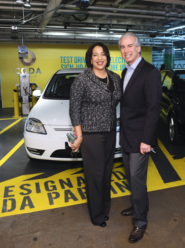 CODA Los Angeles First Customers.  (PRNewsFoto/CODA Automotive)