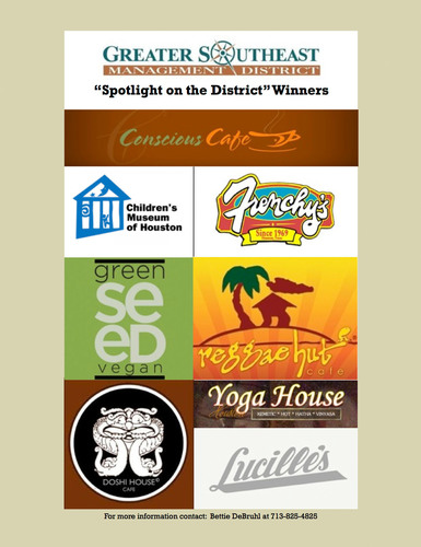 Greater Southeast Management District contest winners' logos.  (PRNewsFoto/The Greater Southeast Management District)