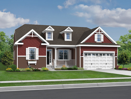 The Ainsley by Kincade Homes -  Priced from $229,900. For more information visit KincadeHomes.com.  (PRNewsFoto/Schell Brothers)