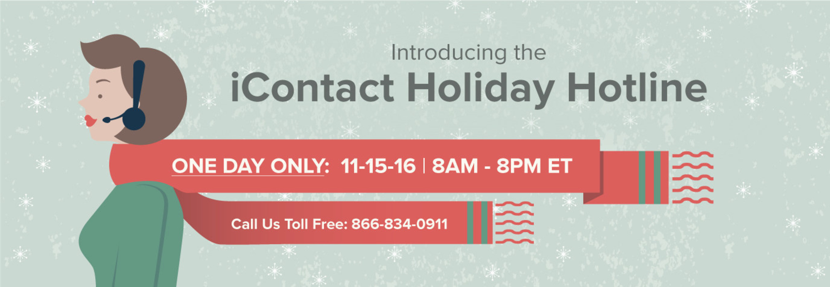 iContact Hosts Free Holiday Hotline for Email Marketers on Nov. 15