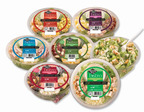 Ready Pac Bistro(R) Bowl Salads are portion-controlled, produce-based line that the company offers. The bowl salads are great options for lunch and light meals, all with fewer than 300 calories and a handy fork for meals on-the-go!.  (PRNewsFoto/Ready Pac Foods, Inc)