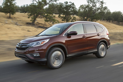 The 2016 Honda CR-V set a new October sales record to help power Honda trucks to a best-ever October.