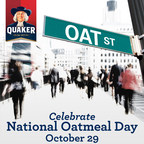 Quaker Oats Celebrates its Fans on National Oatmeal Day with Oat Street Takeovers