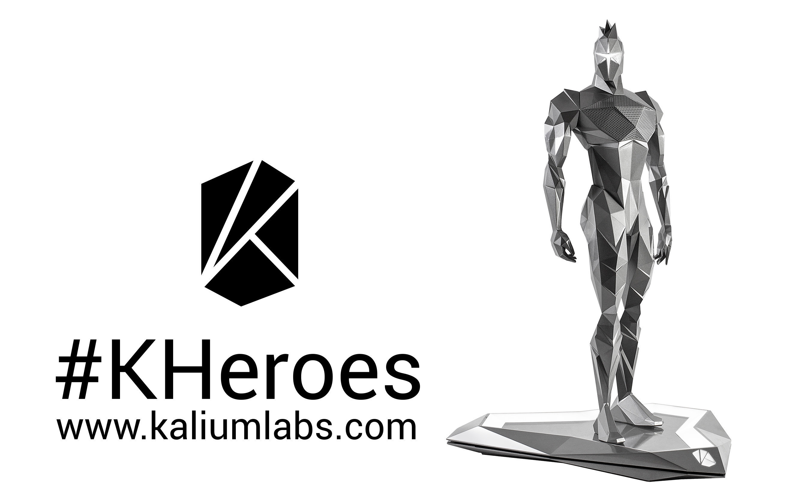The new K Heroes character Bluetooth speaker from Kalium Labs