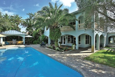 Riverfront home in Daytona Beach offers waterfront oasis.