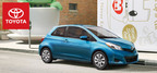 Certain models of the 2014 Toyota Yaris are capable of achieving highway fuel economy ratings of 37 mpg. (PRNewsFoto/Toyota of River Oaks)