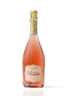 Tiziano Sparkling Rosato: A new invigorating combination of sparkling wine and rose