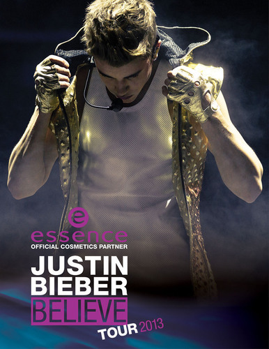 Believe it: essence and Justin Bieber together on World Tour. (PRNewsFoto/essence) (PRNewsFoto/ESSENCE)