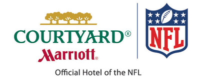 Courtyard by Marriott and NFL (PRNewsFoto/Courtyard by Marriott)