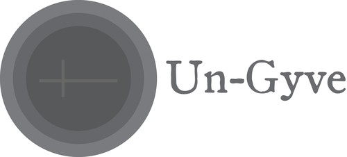 Un-Gyve logo. (PRNewsFoto/Un-Gyve Limited) Gyve: Middle English; origin unknown; sounds like jive; means to ...