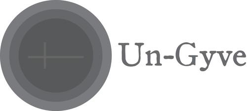 Un-Gyve logo. (PRNewsFoto/Un-Gyve Limited) Gyve: Middle English; origin unknown; sounds like jive; means to shackle or fetter; ungyve \un-jive\ v:[Middle English] to unshackle, to unfetter, to unchain (PRNewsFoto/Un-Gyve Press)