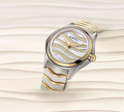 EBEL Wave lady S&G Wave diamond dial (PRNewsFoto/EBEL)
