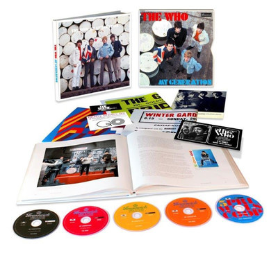 The Who 'My Generation' Super Deluxe Edition (5CD Box Set) To Be Released November 18