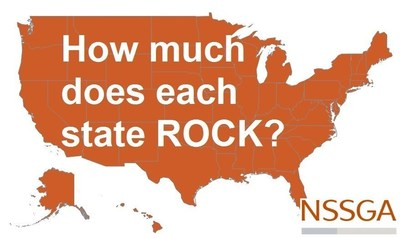 How Much Does Each State Rock?