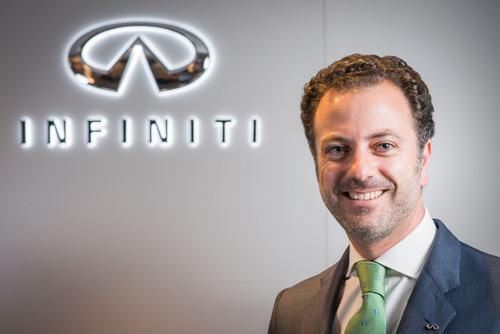 ANTONIO LASAGA APPOINTED INFINITI GLOBAL HEAD OF HUMAN RESOURCES.  (PRNewsFoto/Infiniti)