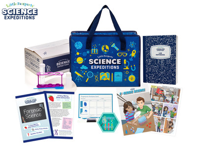 LITTLE PASSPORTS ANNOUNCES STEM-FOCUSED SUBSCRIPTION KIT FOR YOUNG, ASPIRING SCIENTISTS AND ENGINEERS