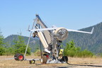Insitu ScanEagle prepares to launch over the Paradise Fire in Olympic National Park in Washington