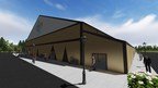 Rendition of the new multi-purpose entertainment facility at River Cree Resort & Casino. The new fabric structure by Legacy Building Solutions is expected to be completed Fall of 2015.