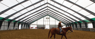 Legacy Building Solutions to Host Equestrian Open House and Fabric Building Tour (PRNewsFoto/Legacy Building Solutions)