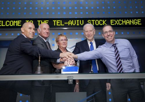 OPKO Management and Israel's Minister of Science Open TASE Trading in Honor of OPKO'S Dual-Listing