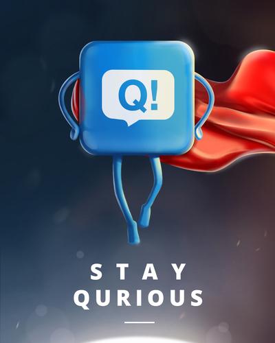 Stay Qurious. (PRNewsFoto/Color Eight LLC) (PRNewsFoto/COLOR EIGHT LLC)