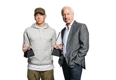 RIAA Celebrates Eminem - the only artist in RIAA Gold & Platinum history to earn two Digital Diamond Awards.