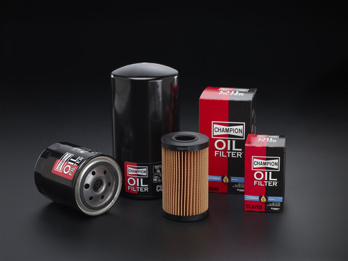 Federal-Mogul's Champion(R) Brand Introduces New Line in Oil, Air and Cabin Air Filter Categories.  (PRNewsFoto/Federal-Mogul Corporation)