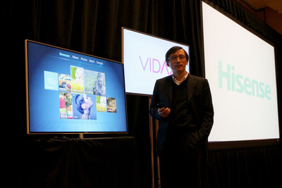 Hisense VIDAA TV to Become Available in the United States. (PRNewsFoto/Hisense Group) (PRNewsFoto/HISENSE GROUP)