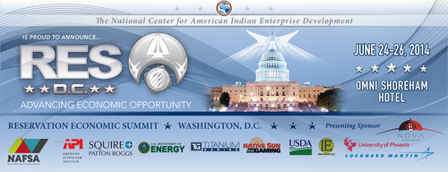 RES D.C., hosted by the National Center for American Indian Enterprise Development, is occurring in Washington,  ...