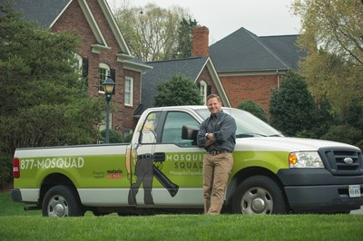 Mosquito Squad and licensed contractor Jason Cameron team up to teach homeowners how to eliminate annoying and dangerous mosquitoes and ticks from yards.